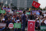 İBB'de işten çıkarılan işçilerden Barış Pınarı Harekatı'na destek