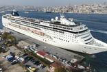 İstanbul ekonomisine doping! Devasa kruvaziyeri boğazda görenlerin ağzı açık kaldı