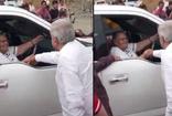 Meksika Devlet Başkanı El Chapo annesinin elini sıktı ülke karıştı
