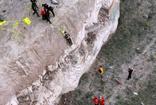 Kayseri'de selfie çekmek isterken kayalıklardan yuvarlandı