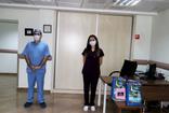 Rize'de koronavirüs kapan hemşirelerin fedakarlığı alkışı hak etti