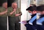 Zabıtaya hitabıyla kendine hayran bırakan Burhan Kılıçkını hastaneye kaldırıldı