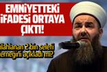 Cübbeli Ahmet Hoca'nın ifadesi ortaya çıktı!