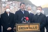Giresun'u ziyaret eden Bakan Murat Kurum: Yeni konutlar Haziran ayında teslim edilecek