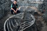 Tam 5 bin yıllık sadece kafatası bile 3 metre! Dünyayı hayrete düşürdü