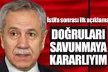 Bülent Arınç'tan istifa sonrası ilk açıklama!