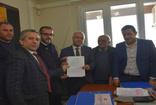 Cumhur İttifakı'nın Salihli adayı Zeki Kayda başvurusunu yaptı