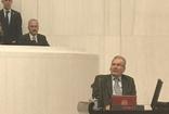 CHP Antalya milletvekili Deniz Baykal TBMM'de yemin etti.