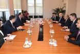 Cumhurbaşkanlığı Sözcüsü İbrahim Kalın ABD Dışişleri Bakanlığı Afganistan Özel Temsilcisi Halilzad'ı kabul etti