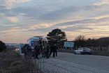 Domaniç'te bir otomobil tarlaya uçtu: 5 yaralı