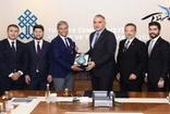 Bakan Mehmet Nuri  Ersoy, seyahat acentaları temsilcileriyle bir araya geldi