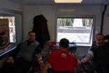 Milas'ta vergi dairesi çalışanlarından Kızılay'a destek