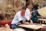Dünyaca ünlü şefler Harran'da tarihin ilk bilinen Mezopotamya ekmeğini yaptı, yufka pişirdi