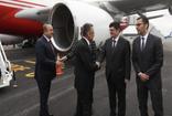 Cumhurbaşkanı Yardımcısı Fuat Oktay ve Dışişleri Bakanı Mevlüt Çavuşoğlu, Yeni Zelanda'da