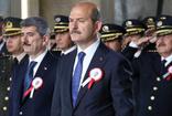 İçişleri Bakanı Süleyman Soylu ve polisler, Anıtkabir'de