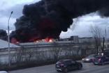 Rusya'da kıtalararası balistik füze fabrikasının deposunda  yangın çıktı