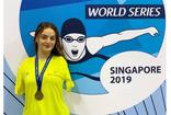 Sümeyye Boyacı, Singapur'da birinci olarak altın madalya ile döndü