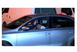 Kağıthane'de kaza yapan alkollü sürücü yol ortasında sızdı