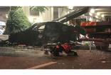 Başkent'te otomobil üst geçitten uçtu: 1 ölü, 2 yaralı