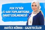 Cumhurbaşkanı Erdoğan S-400 toplantısına FOX TV'yi davet etmedi! FOX TV Genel Yayın Yönetmeni Doğan Şentürk ne dedi?