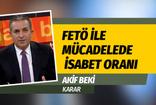 Karar yazarı Akif Beki, FETÖ ile mücadelede isabet oranını kaleme aldı