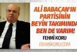 Fehmi Koru Ali Babacan'ın partisiyle ilgili gerçekleri açıkladı!