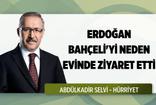 Erdoğan'ın Bahçeli'yi evinde ziyaret etme nedeni ortaya çıktı: Abdulkadir Selvi yazdı