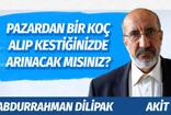 Abdurrahman Dilipak: Pazardan bir koç alıp kestiğiniz için arınacağınızı sanıyorsanız, yanılıyorsunuz!