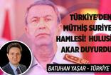 Türkiye'den müthiş Suriye hamlesi! Hulusi Akar duyurdu