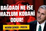 Nedim Şener'den Mazlum Kobani çıkışı: Bağdadi ne ise 'Mazlum' odur!
