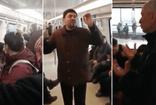 Ankara metrosunda propaganda yapan FETÖ'cüler!