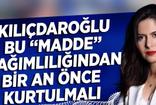 """Kübra Par: Kılıçdaroğlu bu """"Madde"""" bağımlılığından bir an önce kurtulmalı"""