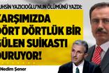 Nedim Şener : Muhsin Yazıcıoğlu'nun Son Günü : Suikast !