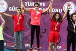 Ankara'da mindere çıkan Köyceğizli kızlar madalyalarla döndü