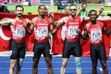 Türkiye, 4x100 metrede Avrupa ikincisi oldu!