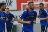 Trabzonspor'un antrenmanlarında Burak Yılmaz sürprizi