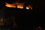 Mersin'de tekstil fabrikasında korkutan yangın