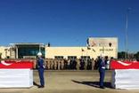 Donarak şehit olan askerlerimize Elazığ'da tören düzenlendi