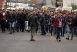 Patnos'ta protesto esnasında kalp krizi geçirdi, hayatını kaybetti