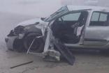 Emniyet kemeri takmayan sürücü yoğun sis nedeniyle kaza yaptı, kazada hayatını kaybetti