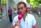 Hollanda saldırganı Türk'ün muhabiri taciz videosu ortaya çıktı