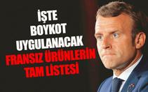 Cumhurbaşkanı Erdoğan'dan Fransız ürünlerine boykot çağrısı! Peki Fransız markalar hangisi? İşte Fransız boykot ürünleri