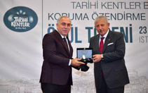 Tarihi Kentler Birliği'nden Fatih Belediyesi'ne ödül
