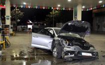 Ankara'da bir otomobil başka bir otomobile çarptı: 4 yaralı