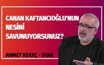Ahmet Kekeç, Canan Kaftancıoğlu'nu savunan yazarlara ateş püskürdü: Yazıklar olsun size!