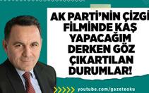 Deniz Zeyrek : Ak Parti'nin Çizgi Filminde Kaş Yapalım Derken Göz Çıkartılan Durumlar !
