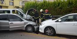Mahalleliyi ayağı kaldıran trafik kazası!
