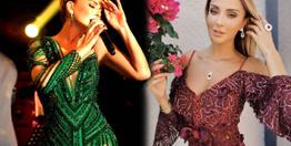 Gülben Ergen ve Özge Ulusoy pişti oldu elbiselerin 'göğüs farkı' ise olay!