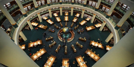 Millet Kütüphanesi'ne ziyaretçi akını! İçerden ilk fotoğraflar hayran bıraktı