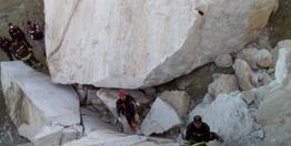 Konya'da maden ocağında iki kayanın arasında sıkışan kişi öldü
